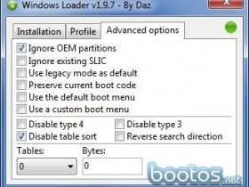 Windows Loader 1.9.7 by Daz En